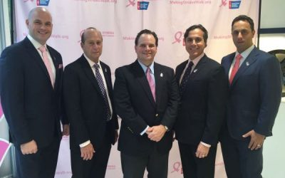 Real Men Wear Pink Making Strides Against Breast Cancer Happy Hour for Hope Oct. 25